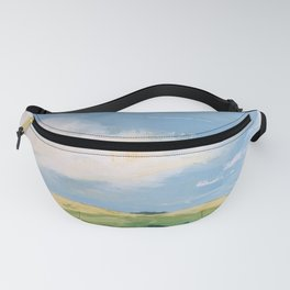 original abstract landscape painting number 11 Fanny Pack