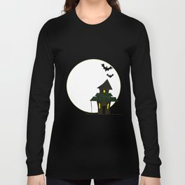 Halloween Cottoge Long Sleeve T-shirt