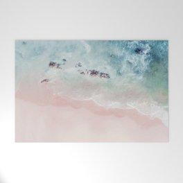 Ocean Pink Blush Welcome Mat