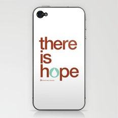 there is hope - blood:water mission  iPhone & iPod Skin
