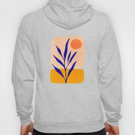 Golden Afternoon II / Abstract Landscape Hoody