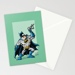 Another Strong man in a super hero costume Stationery Cards