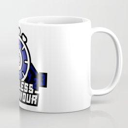 Timeless Endeavour Logo - Blue/White Coffee Mug