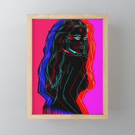 The Neon Demon Framed Mini Art Print