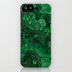malachite Slim Case iPhone (5, 5s)