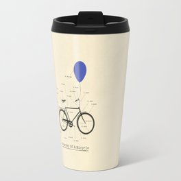 Anatomy Of A Bicycle Travel Mug
