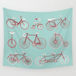 Pedal to the Mettle Wall Tapestry