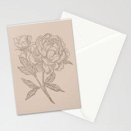 Peony Rosa Stationery Cards