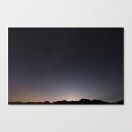 False Advertisement Canvas Print