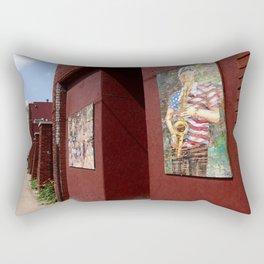 It's Still Art. Play some blues... Rectangular Pillow