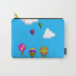 A Sky with Hot Air Balloons Carry-All Pouch
