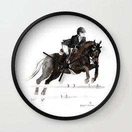 Horse (Jumper II) Wall Clock