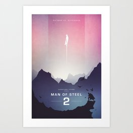 Man of Steel Poster Art Print