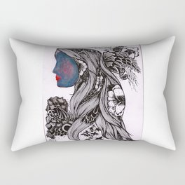 Warmth and Flowers! Rectangular Pillow