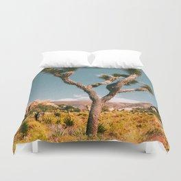 Joshua Tree III / California Desert Duvet Cover