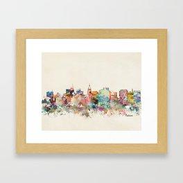 madison wisconsin Framed Art Print