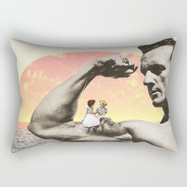 Mr Universe Rectangular Pillow