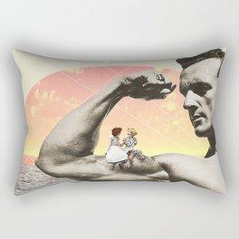 Mr Universe Rectangular Pillow