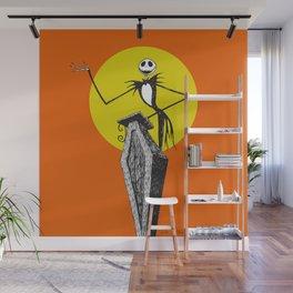 Pumpkin King Wall Mural