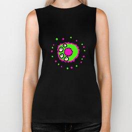 Bacteria Doodle Biker Tank