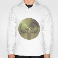 metallic Hoodies featuring Metallic Feeling by Design Windmill
