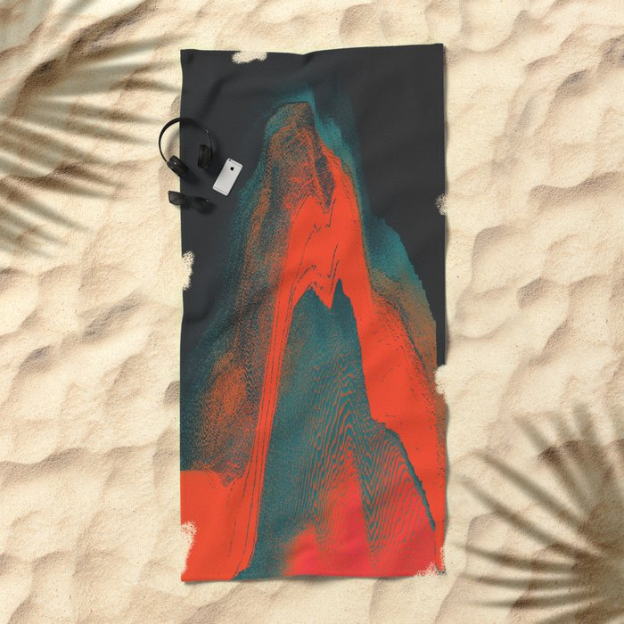 Idiosyncrasy Beach Towel