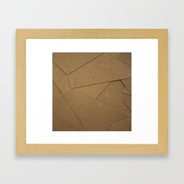 Abstract Collage II Framed Art Print