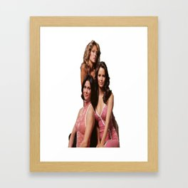 Charlie´s angels Framed Art Print