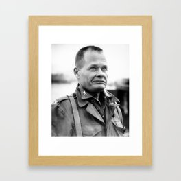 Chesty Puller in Chigyong Framed Art Print