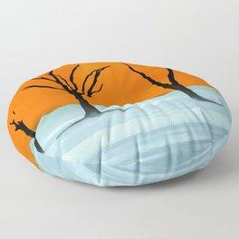 Sossusvlei, Namib Desert Floor Pillow
