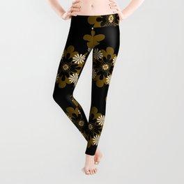 Floral Pattern Leggings