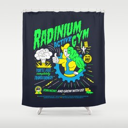 Radinium Active Gym Shower Curtain