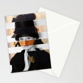 Manet's Portrait of Berthe Morisot & Audrey Hepburn Stationery Cards