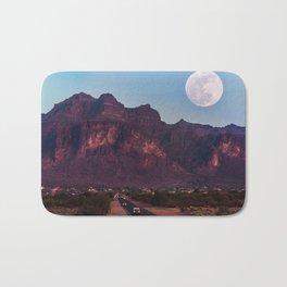 Super Blue Moon over Arizona #society6 #decor #buyart Bath Mat