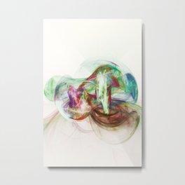 The crystal eye Metal Print