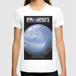 George Greenough Surfing T-shirt