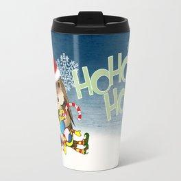 Currier & Bunnies: HO HO HO Travel Mug