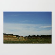 Southern French Country Side Canvas Print
