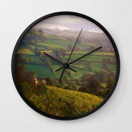 Early Morning Glory Wall Clock