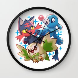 Starterpack Sun & Moon Wall Clock