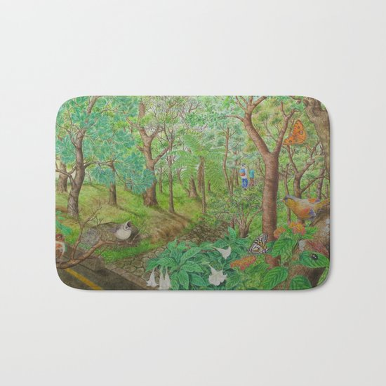 A Day of Forest (1). (walk into the forest) Bath Mat