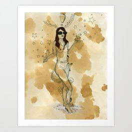 Stages of Seduction: Playful Art Print