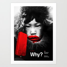 Why? at the Bottletree Art Print