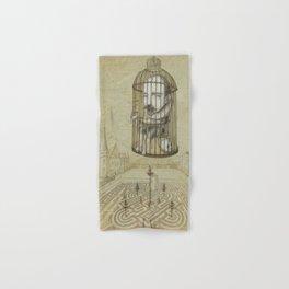 Michel Du Montaigne (1533 - 1592) An Inspirational Philosopher; Prison in the Sky Hand & Bath Towel