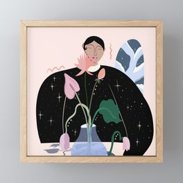 Arrange Framed Mini Art Print
