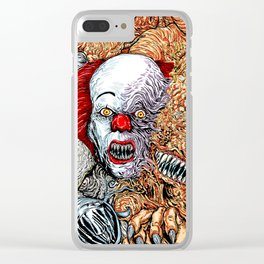 Horror mash Clear iPhone Case