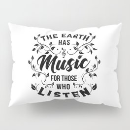 MUSIC Pillow Sham