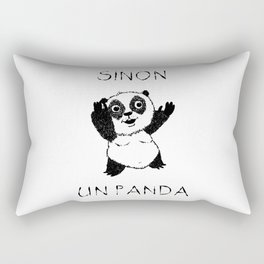 Sinon, un panda (6) Rectangular Pillow