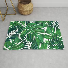 Jungle leaves Rug