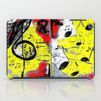 river song iPad Cases featuring Song by sladja